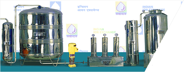 Indian ION Exchange Waterplant