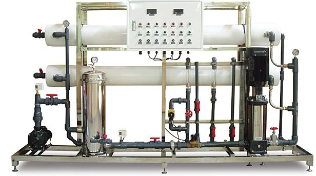 commercial reverse osmosis plant