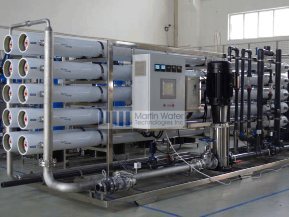 mineral water plant project