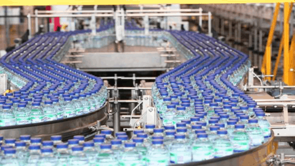 Mineral water business