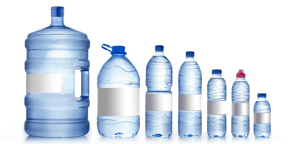 water bottle cost